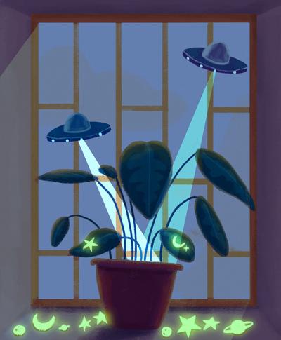 universe-night-plants-neon-ovni-stars-galaxy-moon-jpg