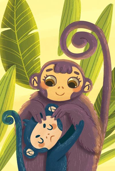 monkey-family-mother-son-animals-caring-0-5-jpg