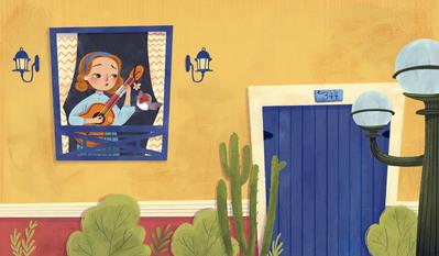 singing-singer-guitar-bird-house-woman-door-jpg