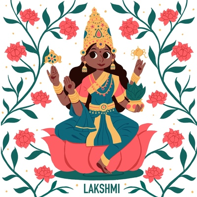 indian-goddess-lakshmi
