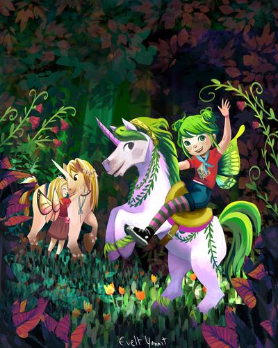 unicorn-horse-faery-faeries-faerie-pixie-fantasy-forest-woods-evelt-yanait-jpg