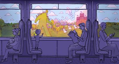 train-boy-man-woman-monster-dream-jpg