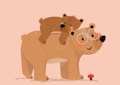 papa-bear-and-baby