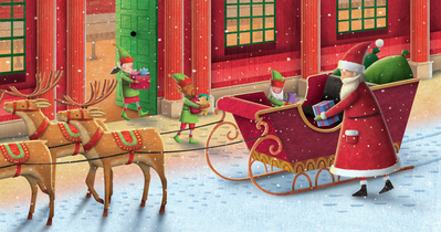 santa-loads-the-sleigh
