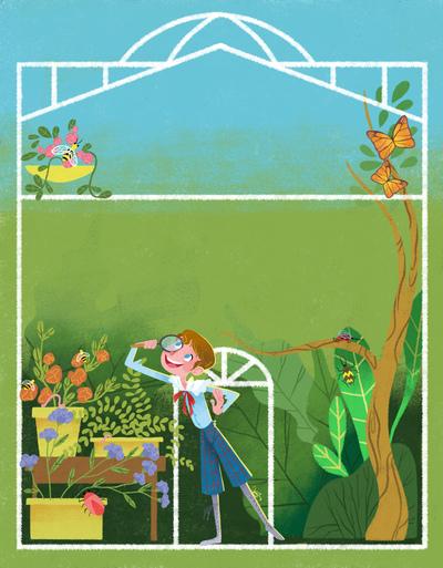 children-garden-insects