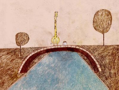 boy-giraffe-bridge-river-jpg