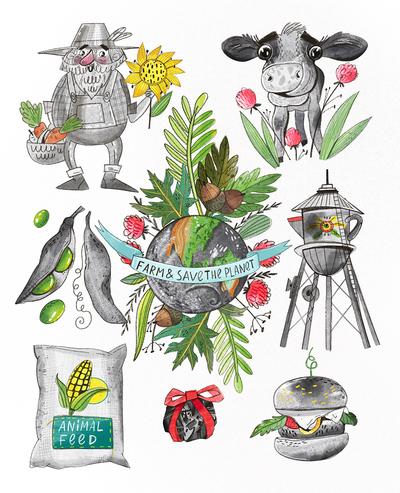 farm-planet-cow-burger-illustration-jpg