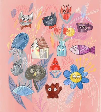 set-faces-eues-pink-illustration-mb-jpg