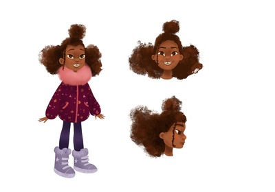 curly-haired-girl-character-design