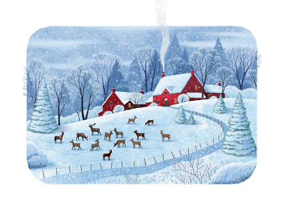 house-with-reindeers