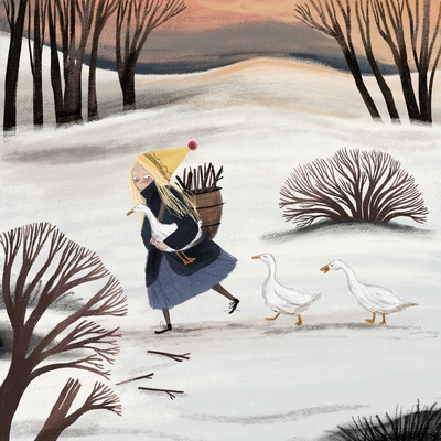 winter-girl-with-goose