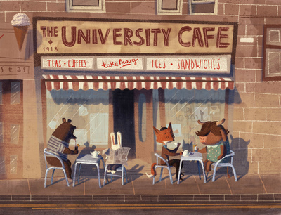 cafe-bear-bunny-cow-bull-fox-seagull-basket-shopping-uk-catonpaper-gandolfi-2019-jpg