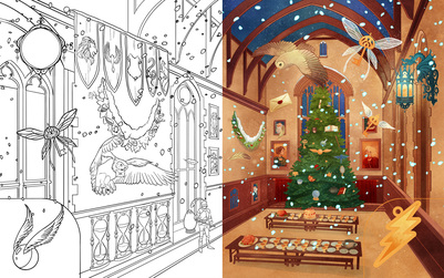 great-hall-hogwarts-christmas