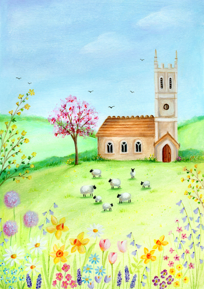 easter-church-sheep-blossom-tree-flowers-jpg