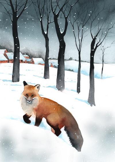 fox-snow-village-trees-jpg