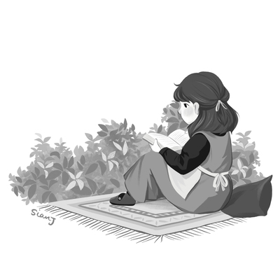 reading-blackandwhite-littlegirl-jpg