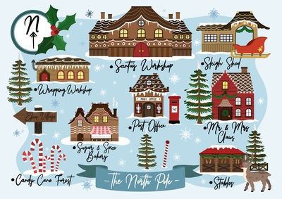 north-pole-map-christmas-card