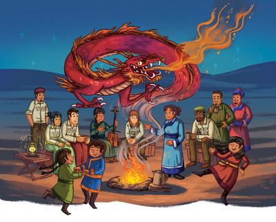 campfire-desert-stories-dragon-music-dancing-mongolian-nomads-mongolia-beijing-china-adventure-nonfiction-roy-chapman-andrews-americans-asian-culture-michellesimpson-jpg