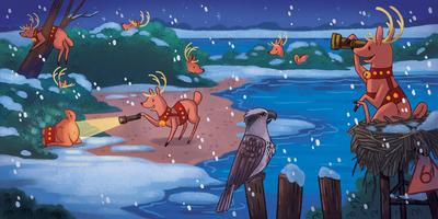 christmas-riendeer-games-play-hideandseek-tag-flashlights-magic-night-eve-winter-cold-beach-snow-michellesimpson-jpg