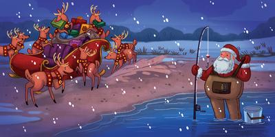 christmas-santa-fishing-riendeer-magic-night-sled-stuck-eve-flying-winter-cold-beach-michellesimpson-jpg