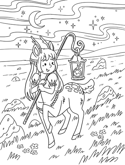 coloring-colouring-pages-magical-mythical-creatures-cute-kidsbooks-workbooks-lineart-blackandwhite-michellesimpson-jpg