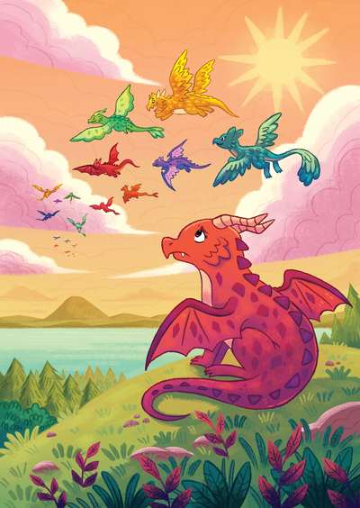 dragons-flying-youngreaders-magic-mythical-monsters-creatures-michellesimpson-min-jpg