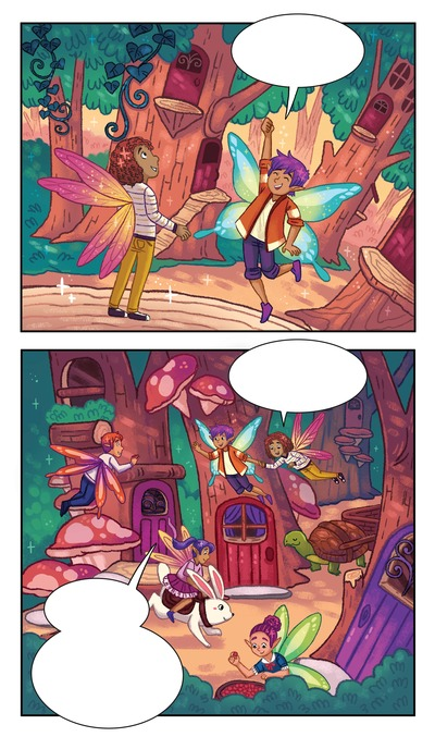 fairy-fae-forest-magical-magic-cooking-baking-friends-contest-graphicnovel-comicbook-fairytale-michellesimpson-min-jpg