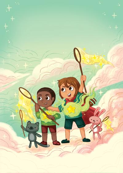 friends-sky-magic-help-boy-girl-strength-power-star-michellesimpson-jpg