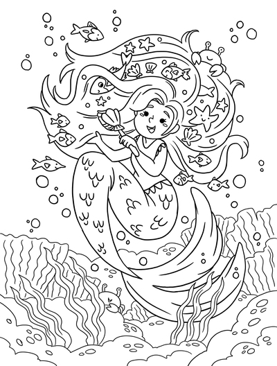 mermaid-magic-water-sea-coloring-colouring-pages-magical-mythical-creatures-cute-kidsbooks-workbooks-lineart-blackandwhite-michellesimpson-jpg