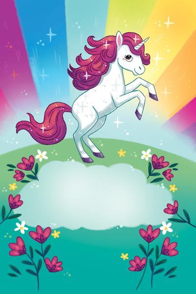 unicorn-rainbow-stars-flowers-magical-mythical-workbook-horse-michellesimpson-min-jpg
