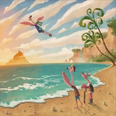 9-flamingo-ocean-sea-beach-birds-happy-travel-palmtrees-clouds-perspective-islands-nature-tropical-jpg