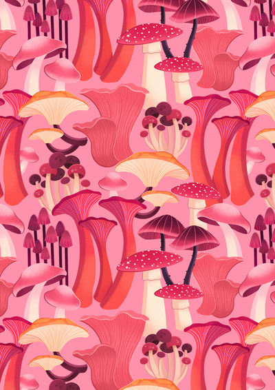 mushroom-pattern-pink-fungus-fabric-repeat-jpg
