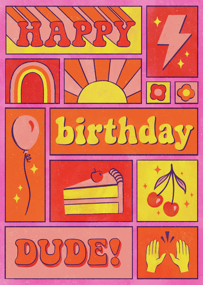 comic-birthday-card