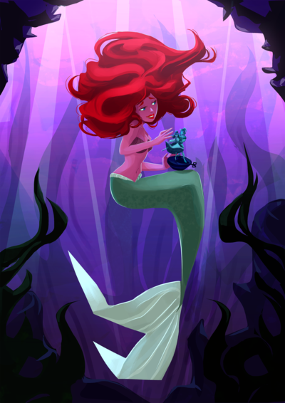 little-mermaid-png
