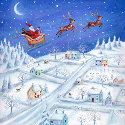 christmas-santa-reindeer-tree-sleigh-moon-snow-jpg