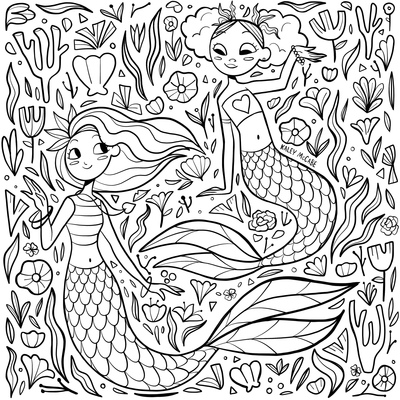 mermaid-lineart-jpeg