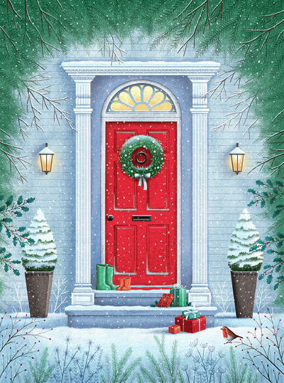 christmas-door-and-wreath
