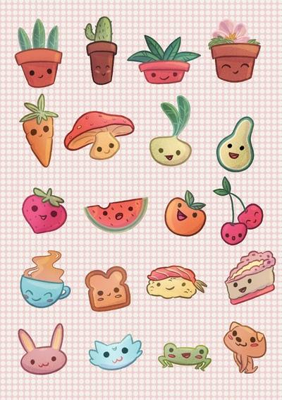 kawaii-stickers