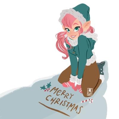 christmas-doodle-elf