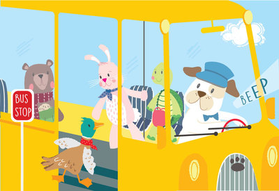 wheels-on-bus-dog-turtle-rabbit-bear-duck-jpg