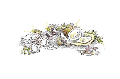 jon-davis-food-oysters-nuts-ham-engraving-jpg