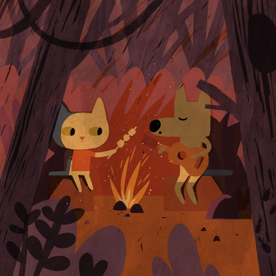 animal-cat-wolf-forest-woods-picnic-night-fare-jpg