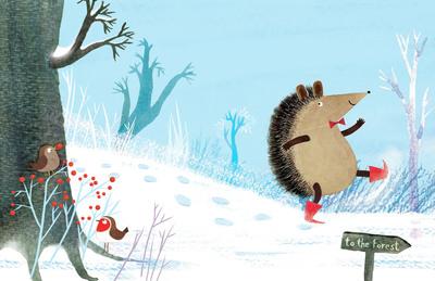 hector-hedgehog-snow-tree-robins-jorooks-jpg