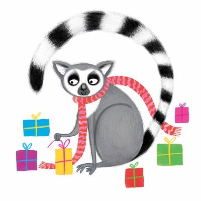 lemur-new-tail-xmas-presents-jorooks-sold-jpg