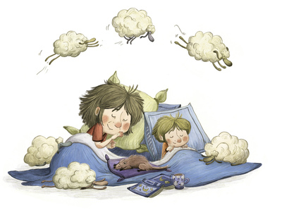 grandmother-child-dreaming-sheep-jpg