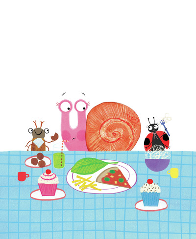 sophie-s-shell-snail-lunch-pizza-jorooks-jpg