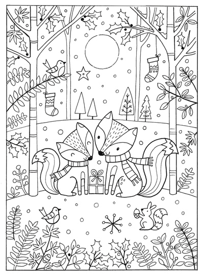 jo-cave-christmas-foxes-colouring-book-jpg