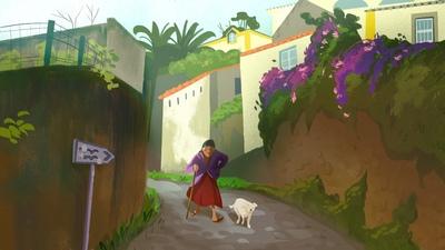 village-grandma