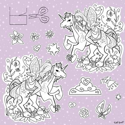 activity-activities-color-colour-coloring-lineart-princess-unicorn-horse-princess-by-evelt-yanait-jpg