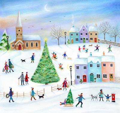 christmas-snow-houses-trees-church-people-jpg